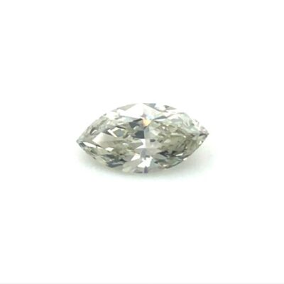 0.79ct light grey marquise diamond