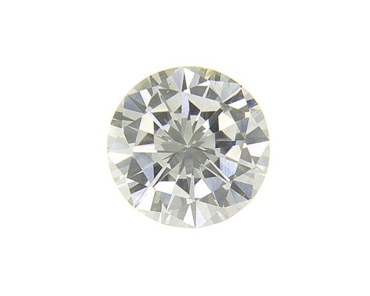 0.36ct round fancy grey diamond
