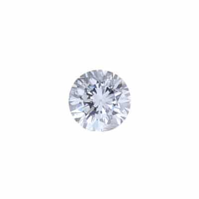 0.17ct round fancy grey-violet diamond