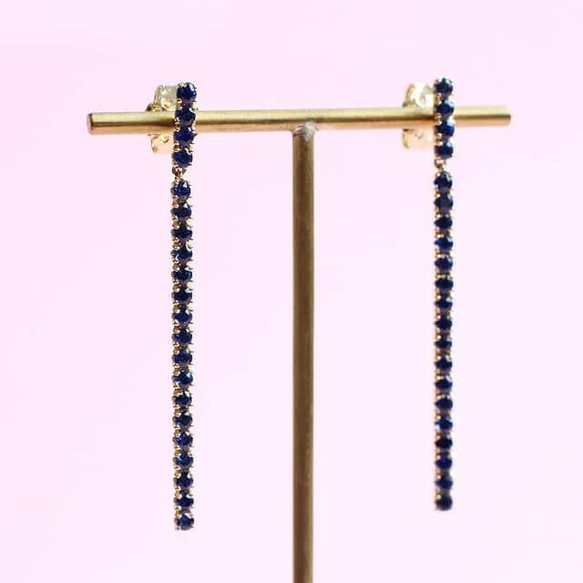 blossom earrings long