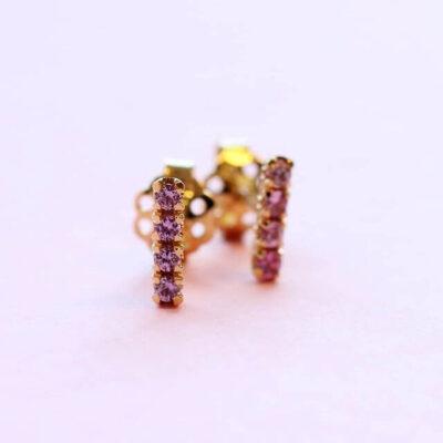blossom earrings short