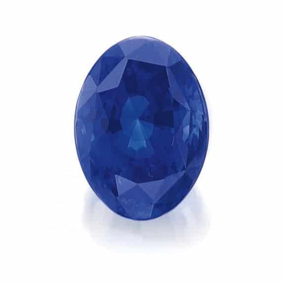 114.74-carat Unmounted Burmese Sapphire