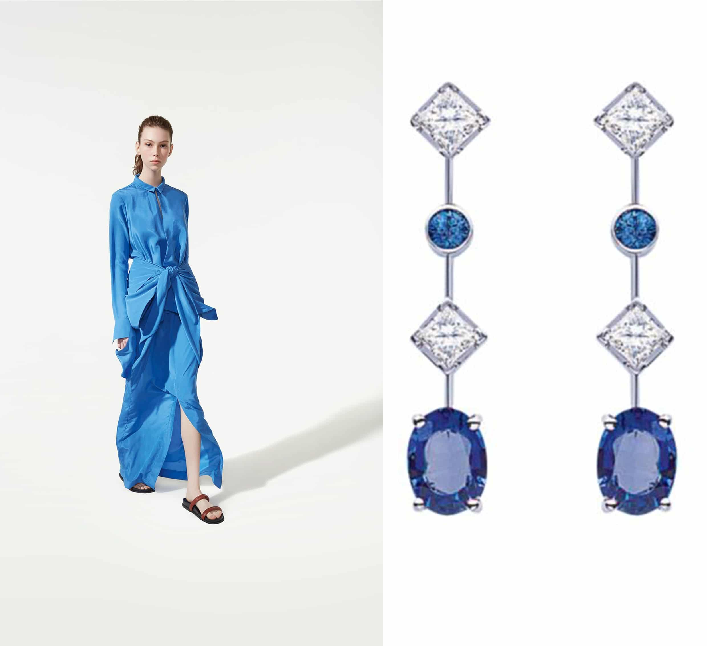 Get the look: Blue Lagoon