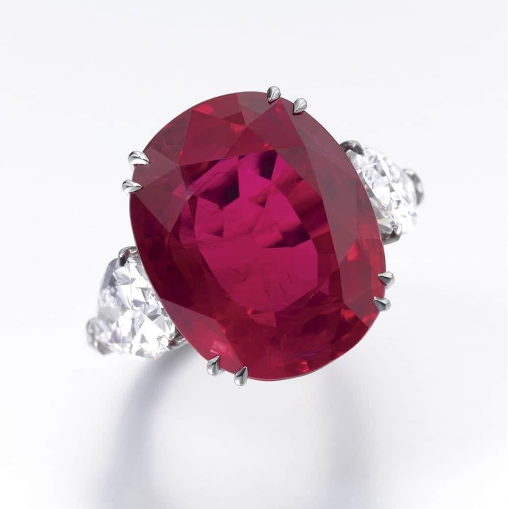 30.20 carat Burmese Ruby and Diamond Ring.jpg