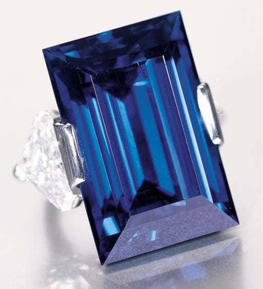 62.02-carat The Rockfeller Sapphire Ring