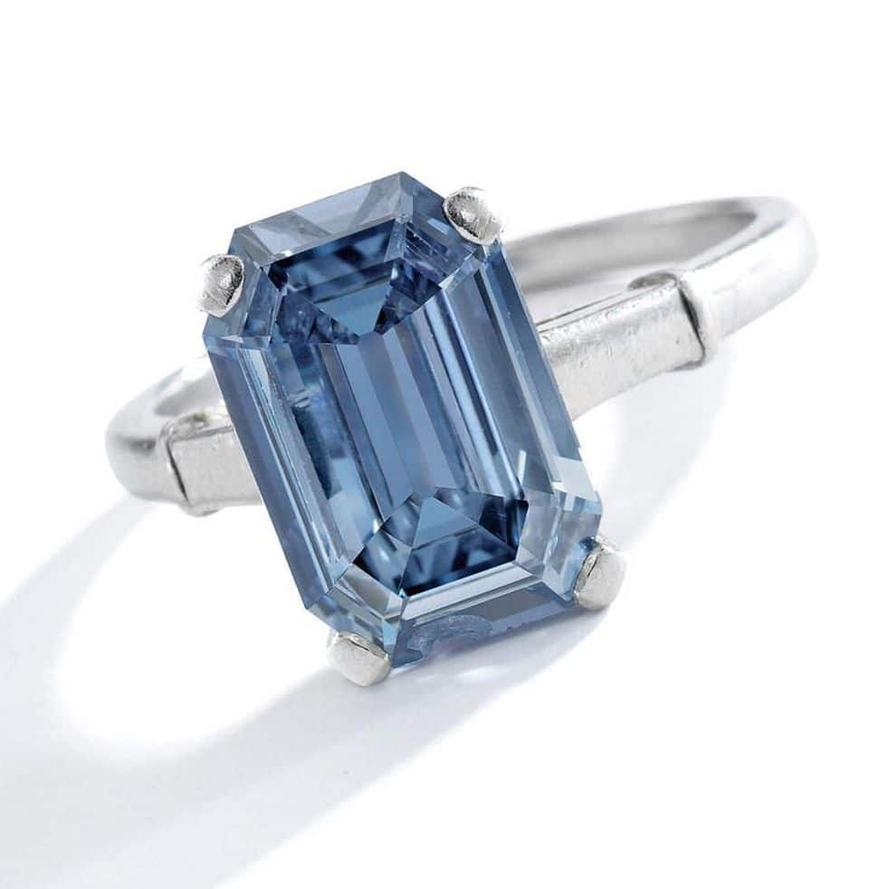 Sotheby's Gets Record Price for Fancy Intense Blue Diamond
