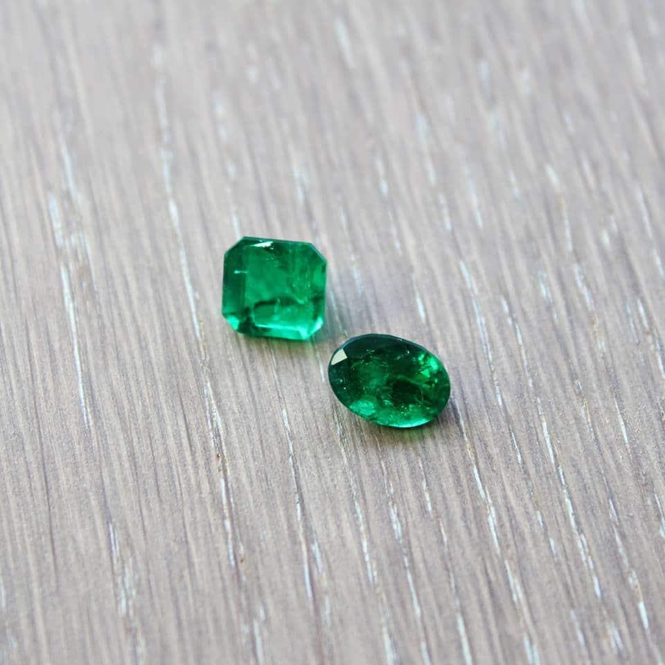 emeralds green May birthstone