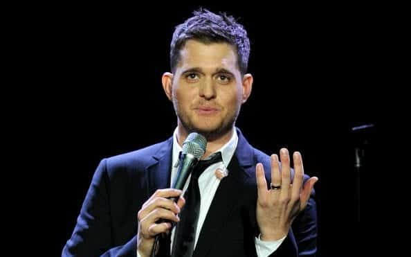 michael engagement ring singer
