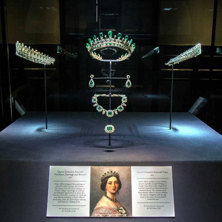 Queen Victoria's Jewels on Display at Kensington Palace