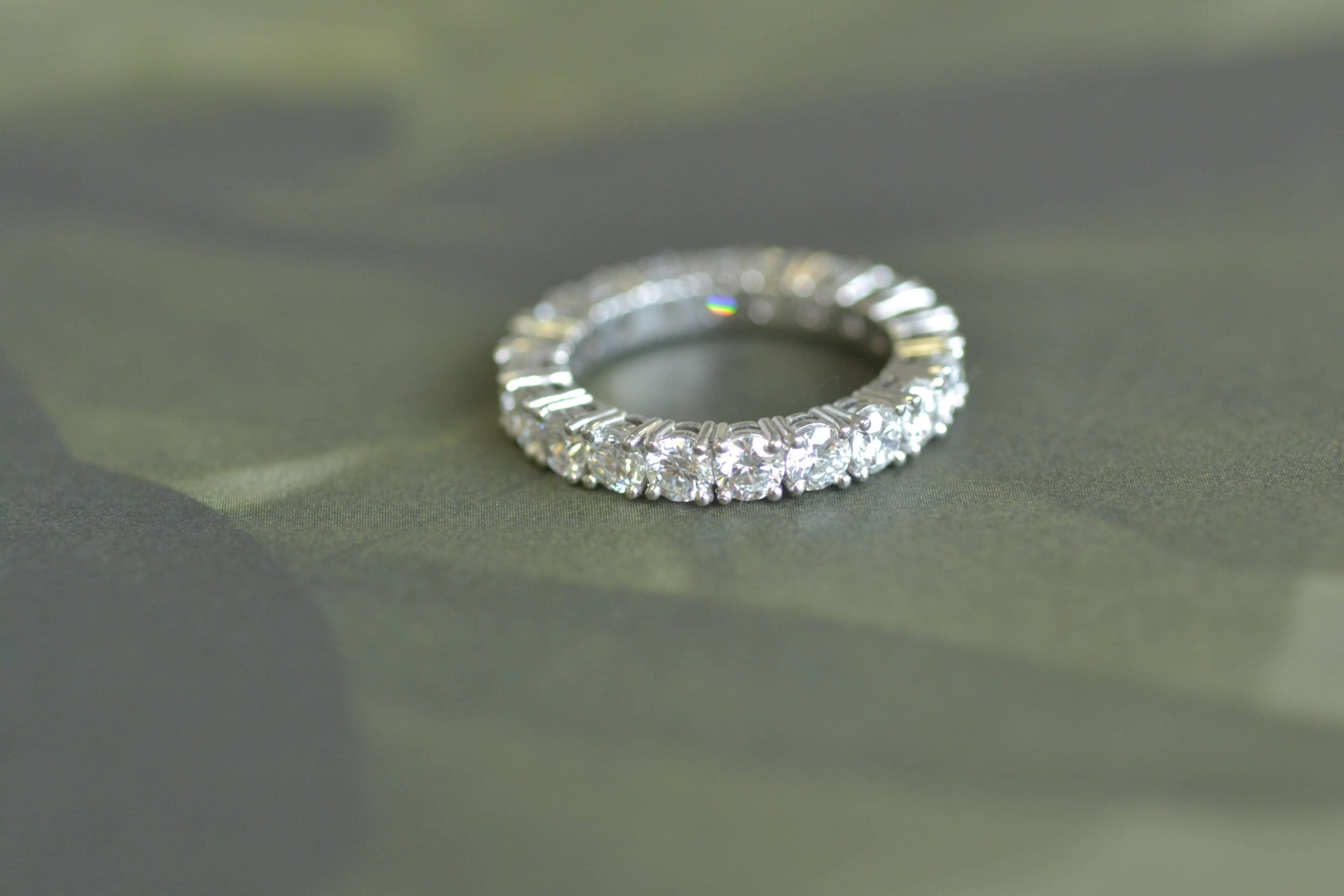 PVW – Eternity Ring and Pendant.