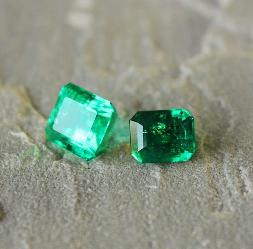 emerald green haruni fine gems