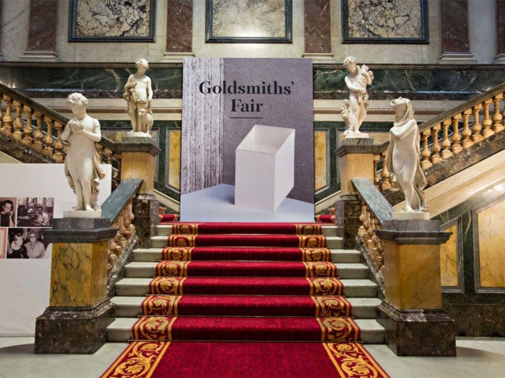 the goldsmith fair london grand entrance