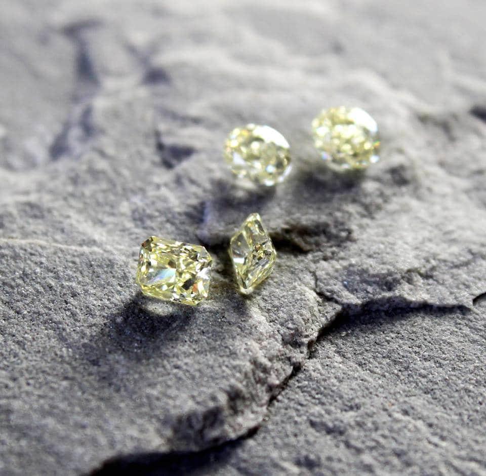 yellow diamonds haruni