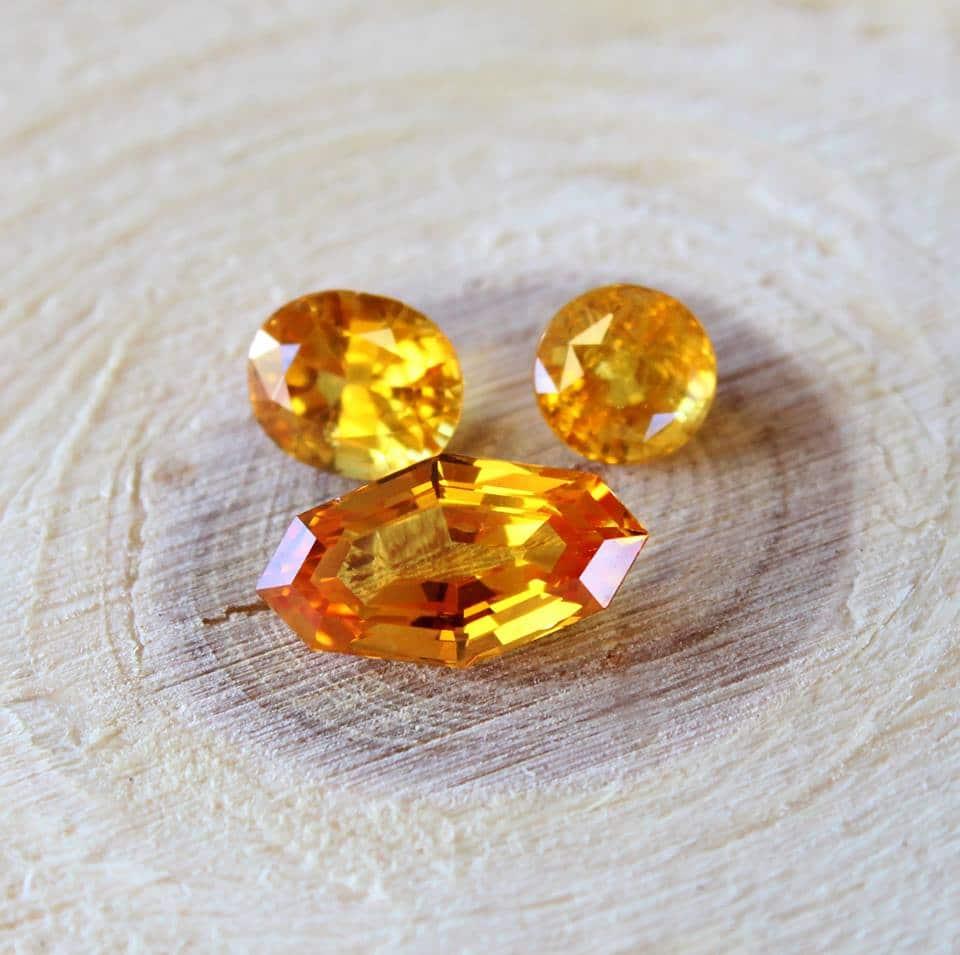 yellow sapphires haruni
