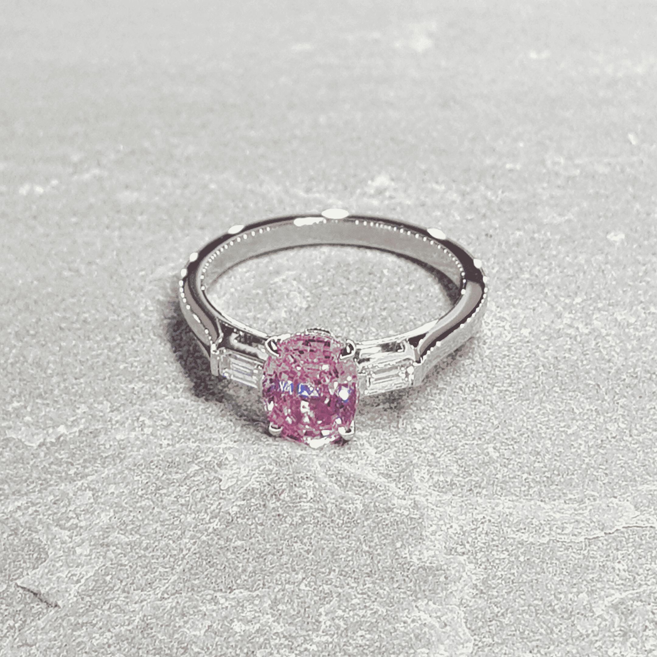 Sarah's Handmade Sapphire Ring
