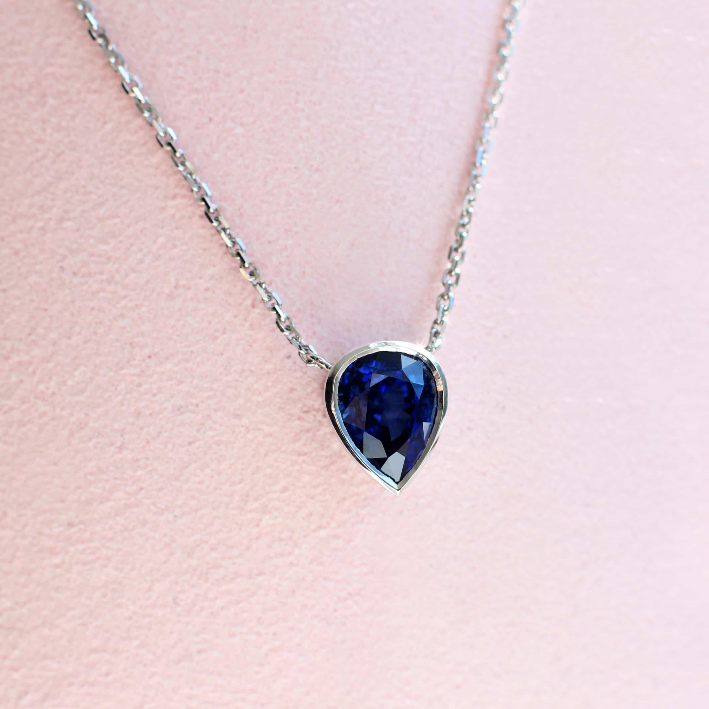 Anthony's Handmade Sapphire Pendant