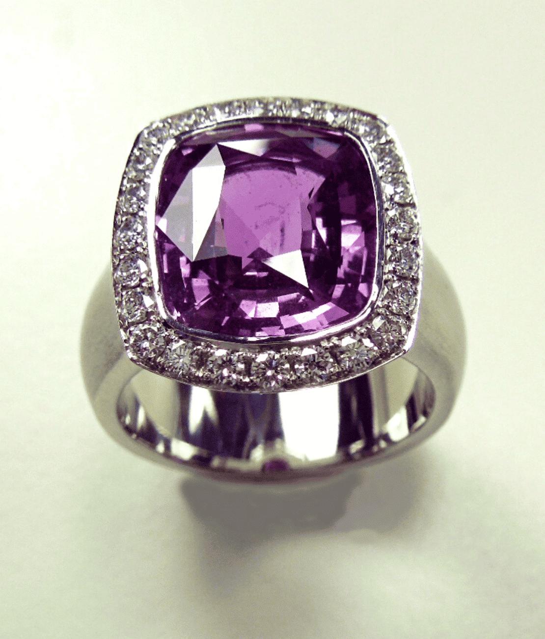 Miri's Bespoke Sapphire Ring